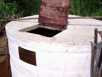 Il pozzo profondo per l'irrigazione